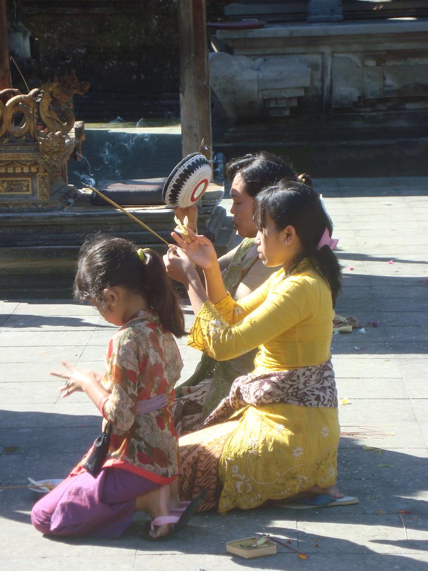 Bali-Offrandes