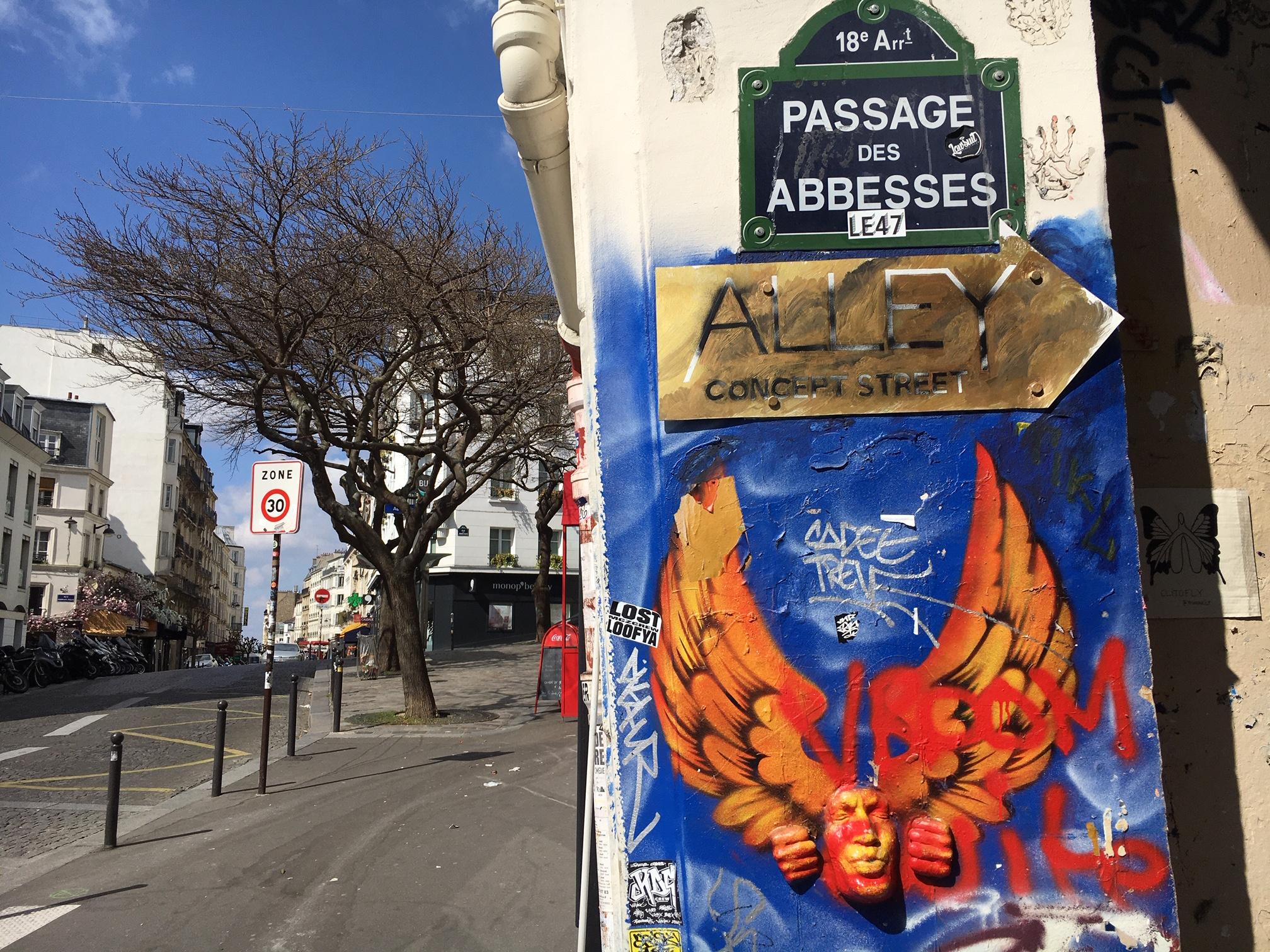 Abbesses à Montmartre
