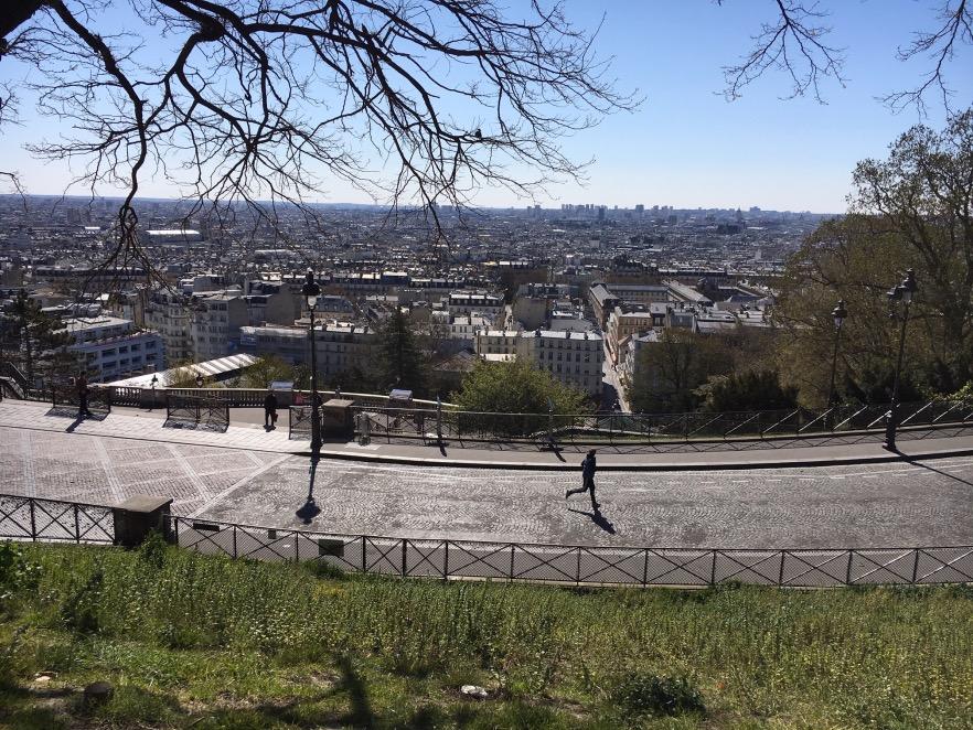 Courir - Montmartre