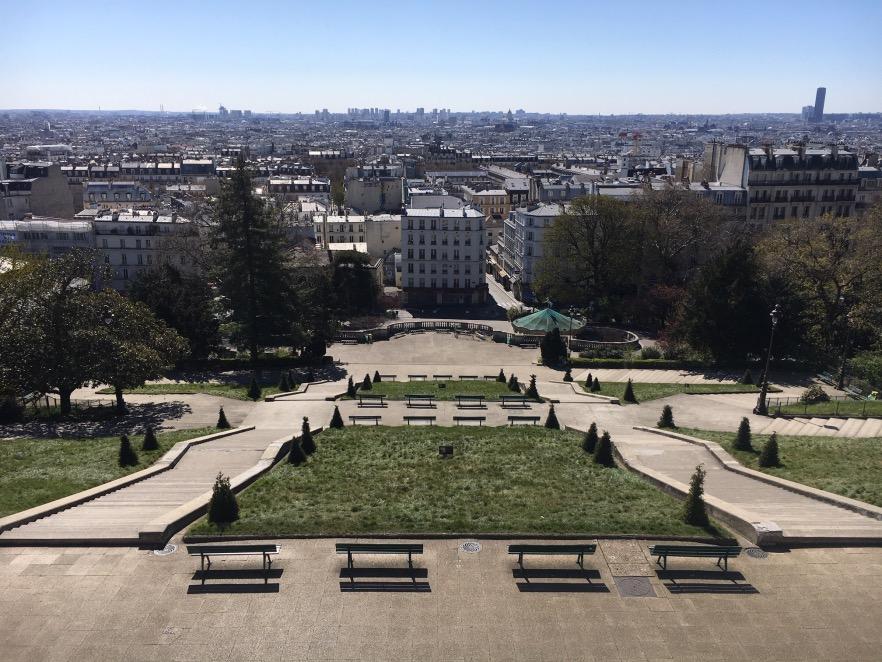 Vue sur Paris - Montmartre